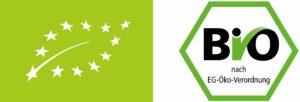 deutsches Bio-Siegel EU Bio Logo