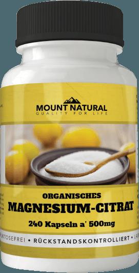 Magnesium organisch Tri- Magnesium- Citrat Mineral