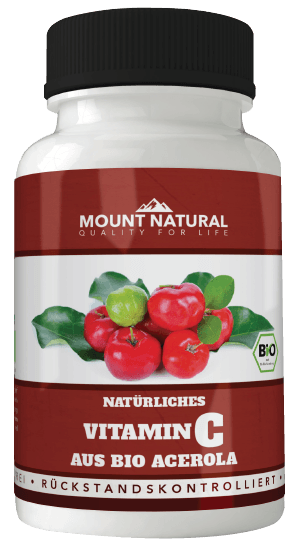 Mount Natural Acerola Bio Vitamin C
