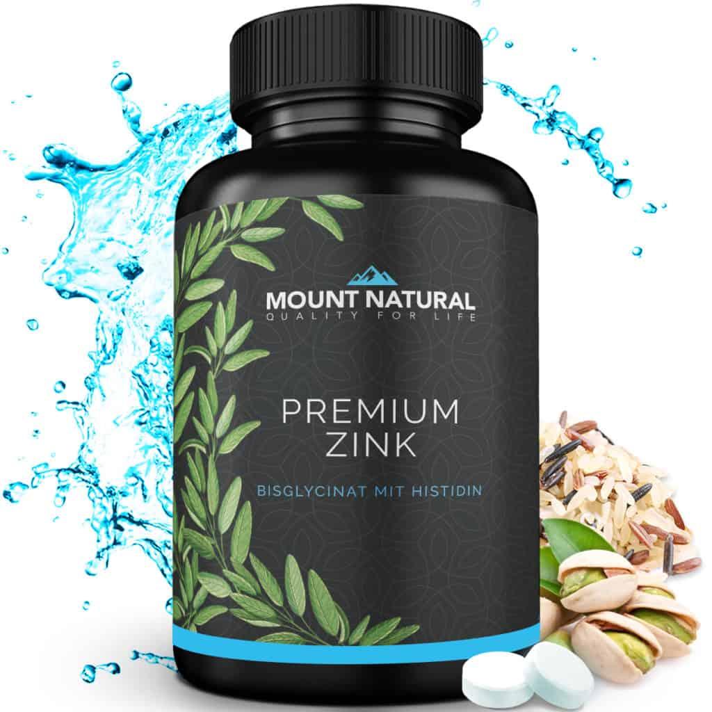 Premium Zink Bisglycinat L-Histidin Mount Natural rückstandskontrolliert laborgeprüft ohne Schadstoffre no China