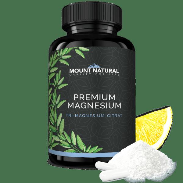 Mount Natural Premium Magnesium Citrat Tricitrat