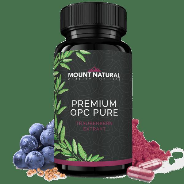 Premium OPC Traubenkern-Extrakt mit hohem OPC-Gehalt, laborgeprüft