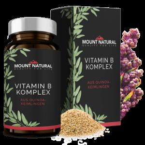 100% Natürlicher Vitamin B Komplex