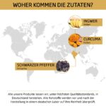 MOUNT NATURAL Bio Curcuma Ingwer Zutaten Herkunft