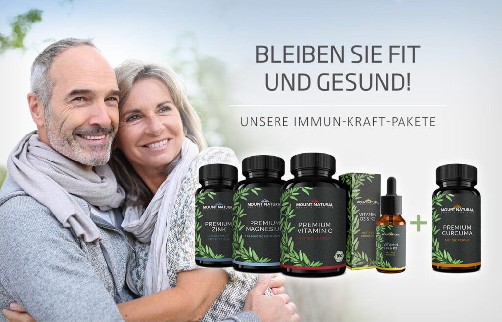 Fit und gesund mit MOUNT NATURAL Immun-Kraft-Paket