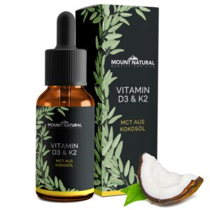 MOUNT NATURAL Vitamin D3 & K2