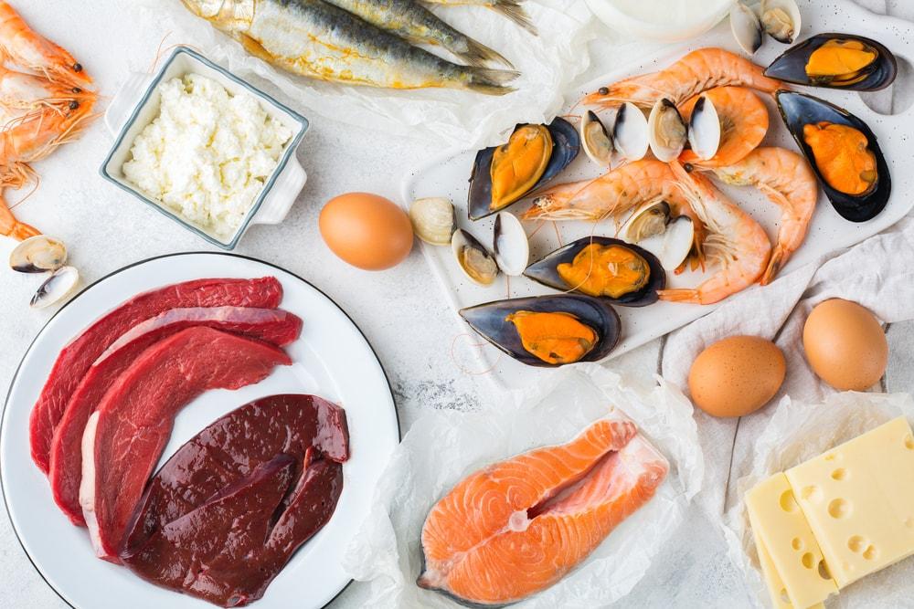 Vitamin B12 reiche Lebensmittel