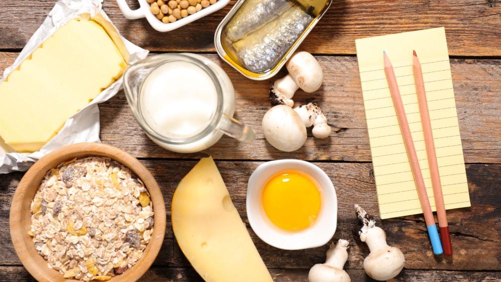Vitamin D-reiche Lebensmittel