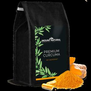 MOUNT NATURAL Premium Curcuma Kapseln