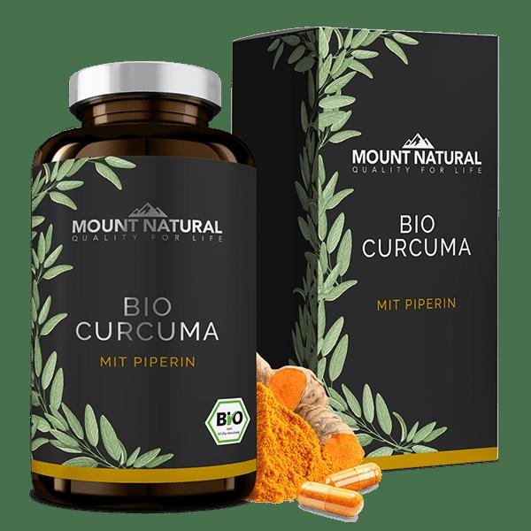 Bio Curcuma Bio-Siegel Bio-Qualität