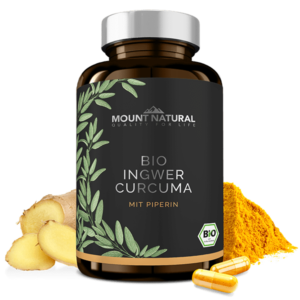 MOUNT NATURAL Bio Ingwer Curcuma
