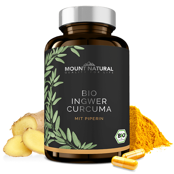 MOUNT NATURAL Bio Ingwer Curcuma