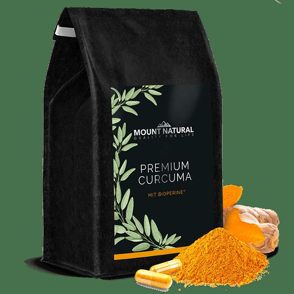 Produktbild MOUNT NATURAL Premium Curcuma Vorratsbeutel