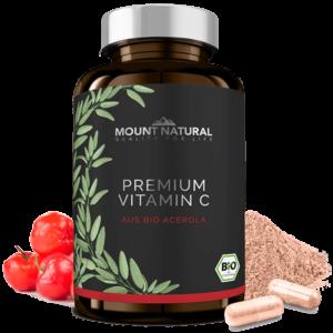 MOUNT NATURAL Produktbild Premium Vitamin C aus Bio Acerola