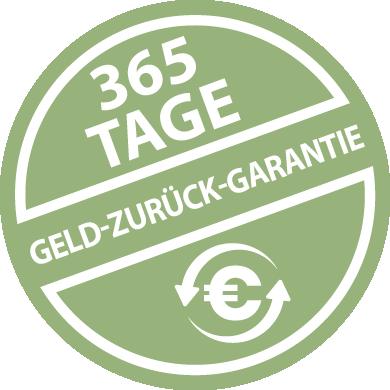 Badge: Mount Natural 365 Tage Geld-Zurück-Garantie