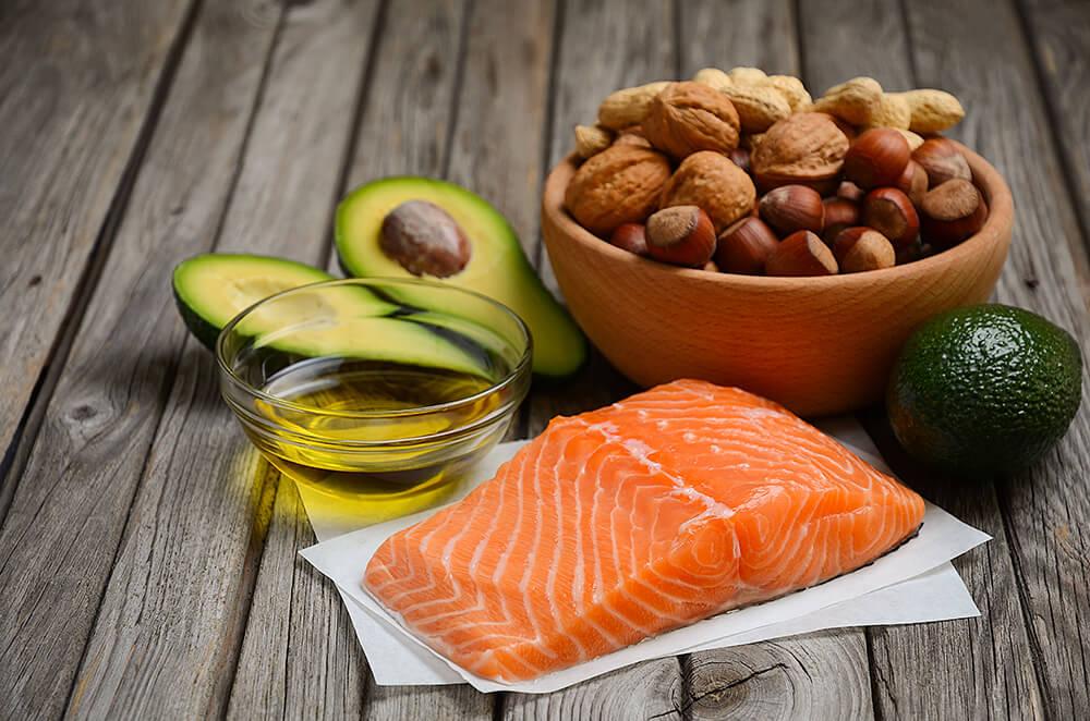 Gesunde Fette in Nahrungsmitteln