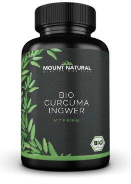 Mount Natural Bio Curcuma Ingwer