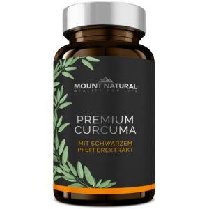 Mount Natural Premium Curcuma Produkt