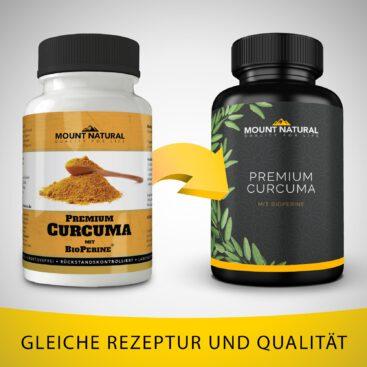 Mount Natural Premium Curcuma - neues Design
