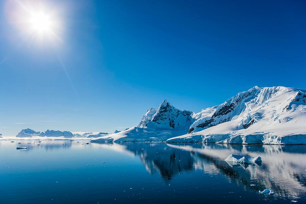 Antarktis Bucht