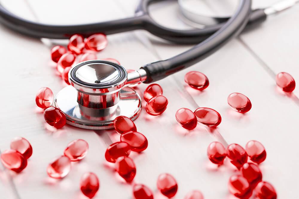 Omega-3-Kapseln für ein gesundes Herz