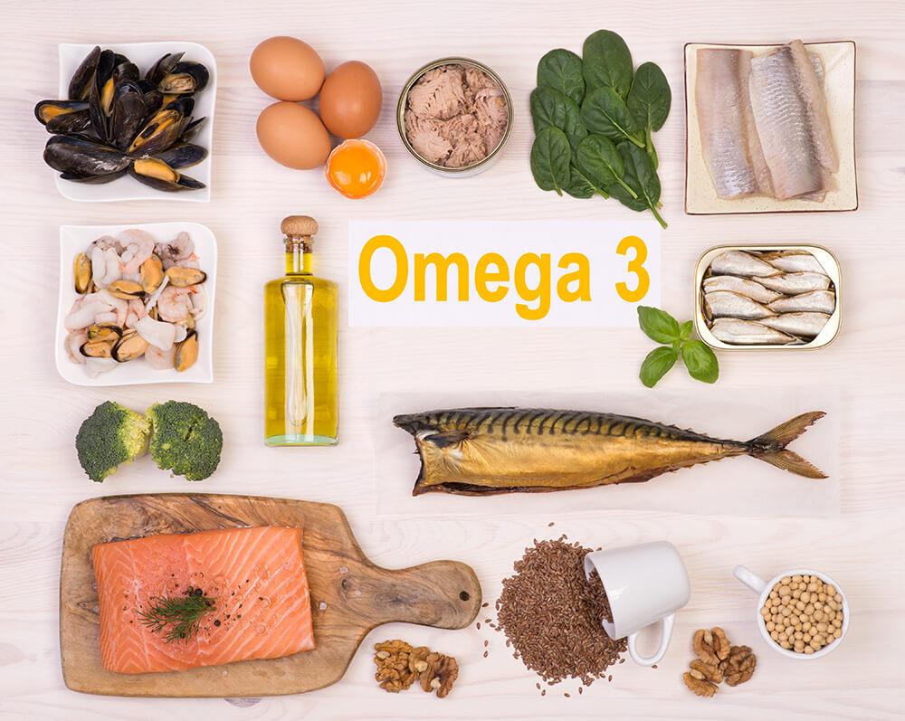 Omega-3 Quellen in Nahrungsmitteln